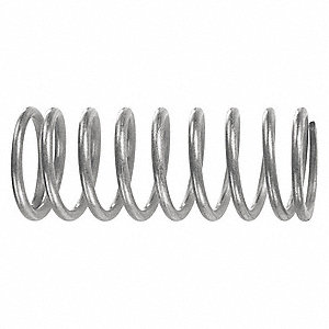Compression Spring,2-1/2inL,1in.dia,PK10