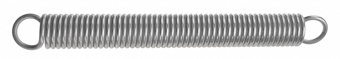 Steel Inch 13.2 lbs Load Capacity 0.36 OD 0.36 OD 0.049 Wire Size 3 Free Length 5.12 Extended Length Associated Spring Raymond Pack of 10 5.7 lbs//in Spring Rate 0.049 Wire Size 5.12 Extended Length 3 Free Length Music Wire Extension Spring