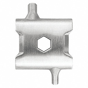 TREAD LINK 7 SS HEX DRSAND WRENCH