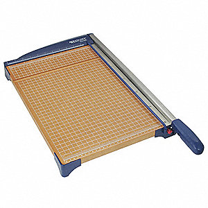 "Guillotine Paper Cutter, 12"" Cutting Length, 10 Sheet Capacity"