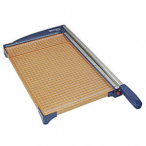"10-Sheet Guillotine Paper Cutter with 15"" Cutting Length, 2-11/16"" Height"