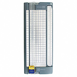 "Paper Trimmer, 12"" Cutting Length, 5 Sheet Capacity"