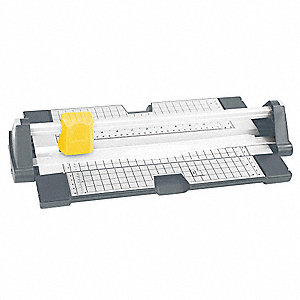"Rotary Paper Trimmer, 12"" Cutting Length, 10 Sheet Capacity"