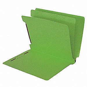 Classification Folders,6 in 1,Green,PK25