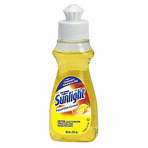Liquid Dishwashing Detergent, 3 oz. Bottle, 90 PK
