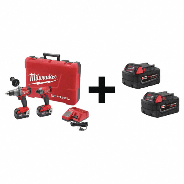 Milwaukee M18 Fuel Cordless Combination Kit 18 0 Voltage