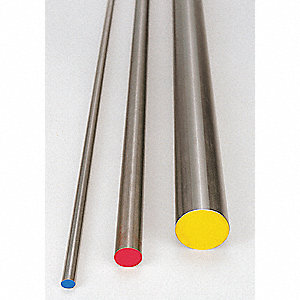 Oil Hard, Drill Rod,Steel,1inx36in L