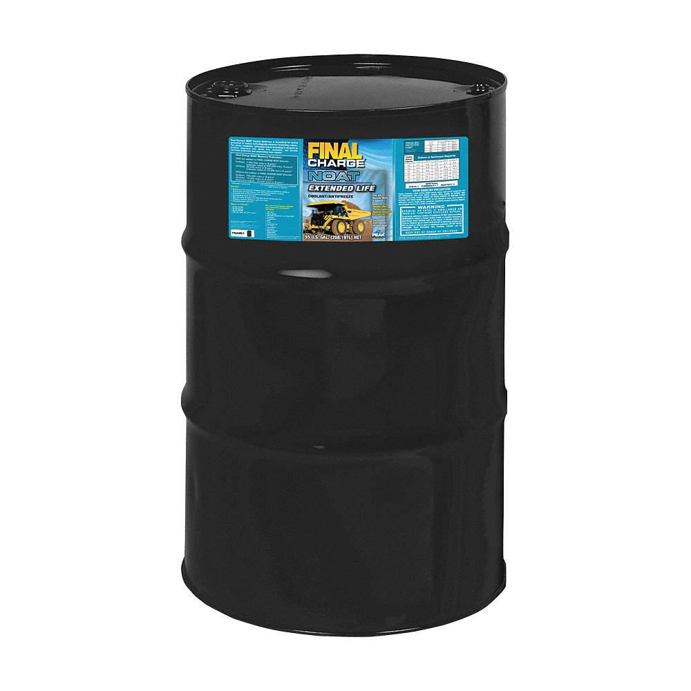 Antifreeze Coolant, 55 gal , Drum, Dilution Ratio : 50/50, -34° Freezing  Point (F)