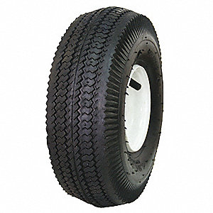 Wheelbarrow Tire,4.10/3.50-4,4 Ply
