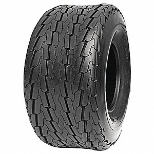Trailer Tire, 20.5x8.0-10, 6 Ply
