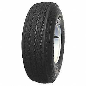 Trailer Tire,12x4 5-4.5,4 Ply