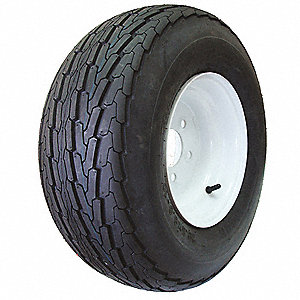 Trailer Tire,10x6 5-4.5,10 Ply