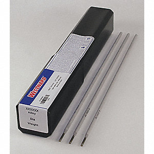 "14"" Stainless Steel Box Stick Electrode with 1/8"" Dia. and E316L-16 AWS Classification"