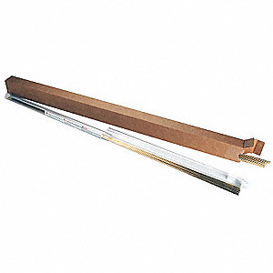 Welding Rod,ERCuSi-A,1/8 In Dia.,1 lb.