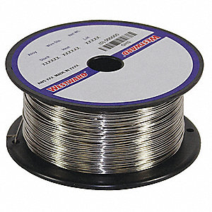 "2 lb. Stainless Steel Spool MIG Welding Wire with 0.023"" Diameter and ER308L AWS Classification"
