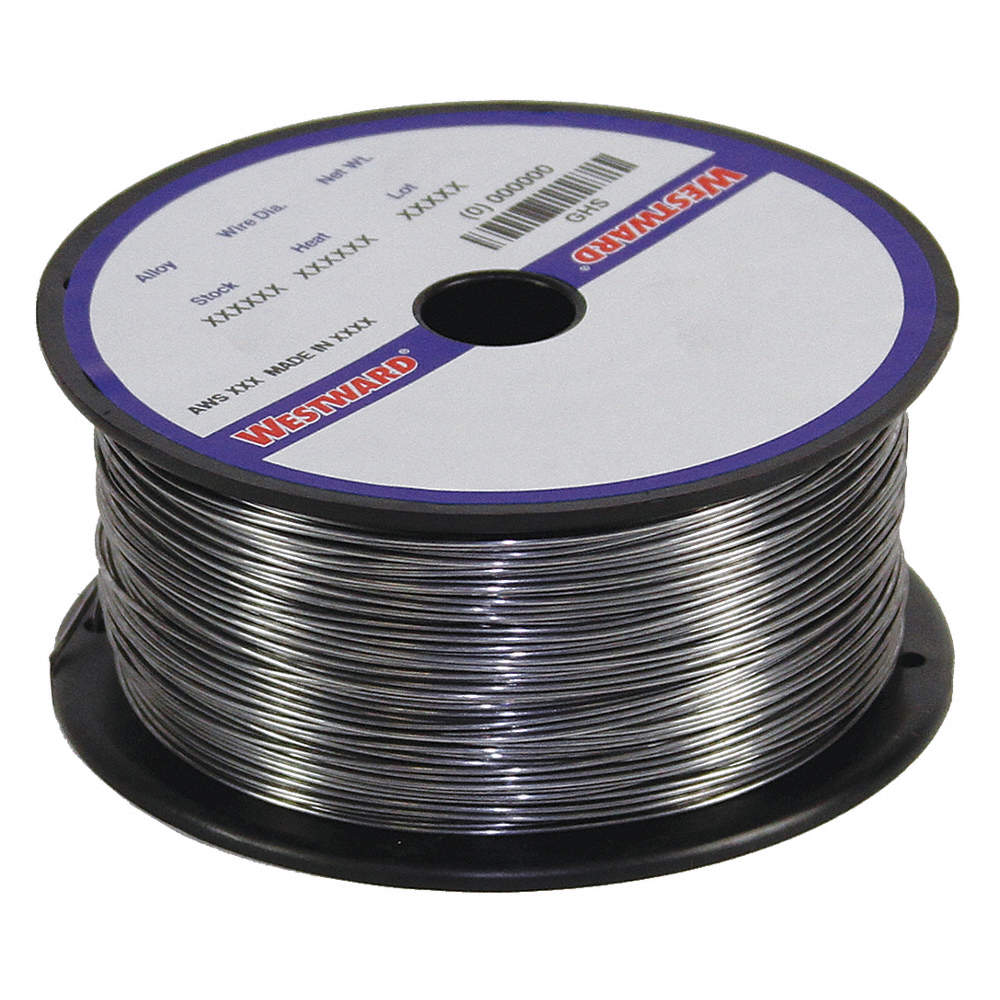 WESTWARD 1 lb. Stainless Steel Spool MIG Welding Wire with 0.035 ...