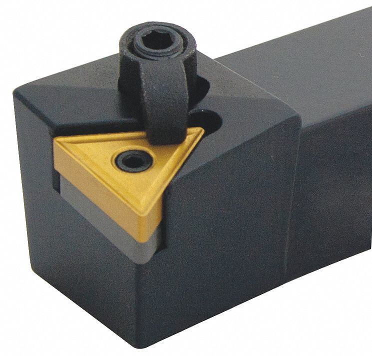 Indexable Turning Toolholder,  MCKN,  Insert Style CNM.,  Overall Length 6 in