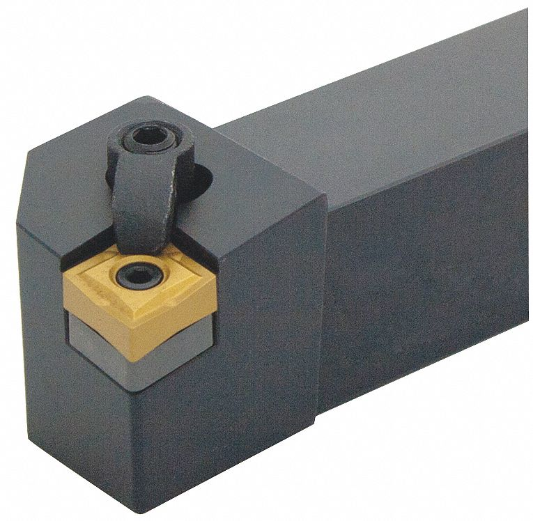 Indexable Turning Toolholder,  MCLN,  Insert Style CNM.,  Overall Length 4-1/2 in