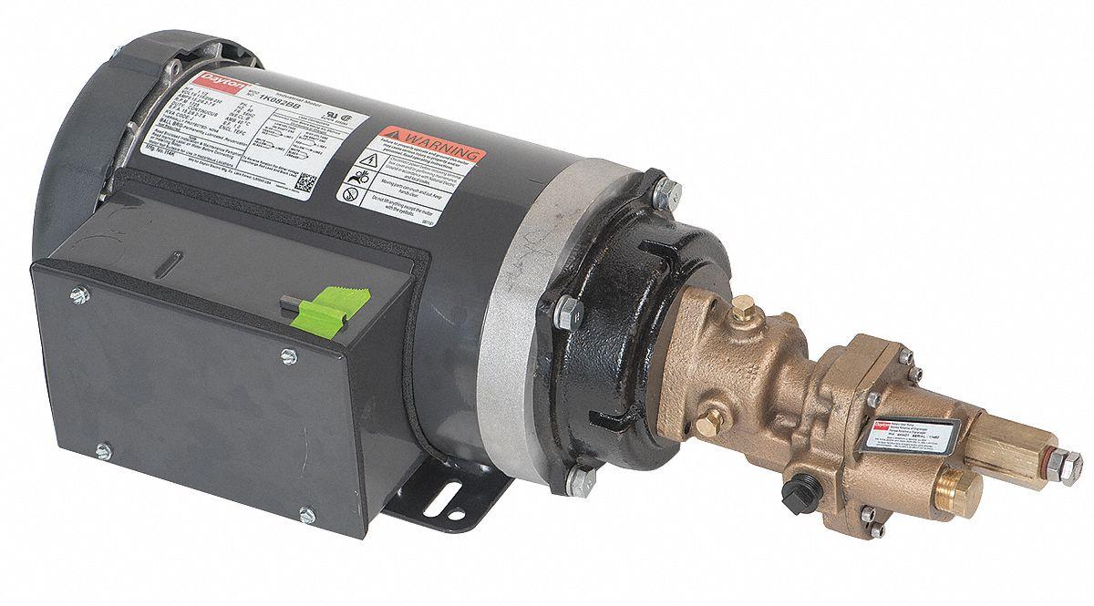 dayton rotary gear pump manual