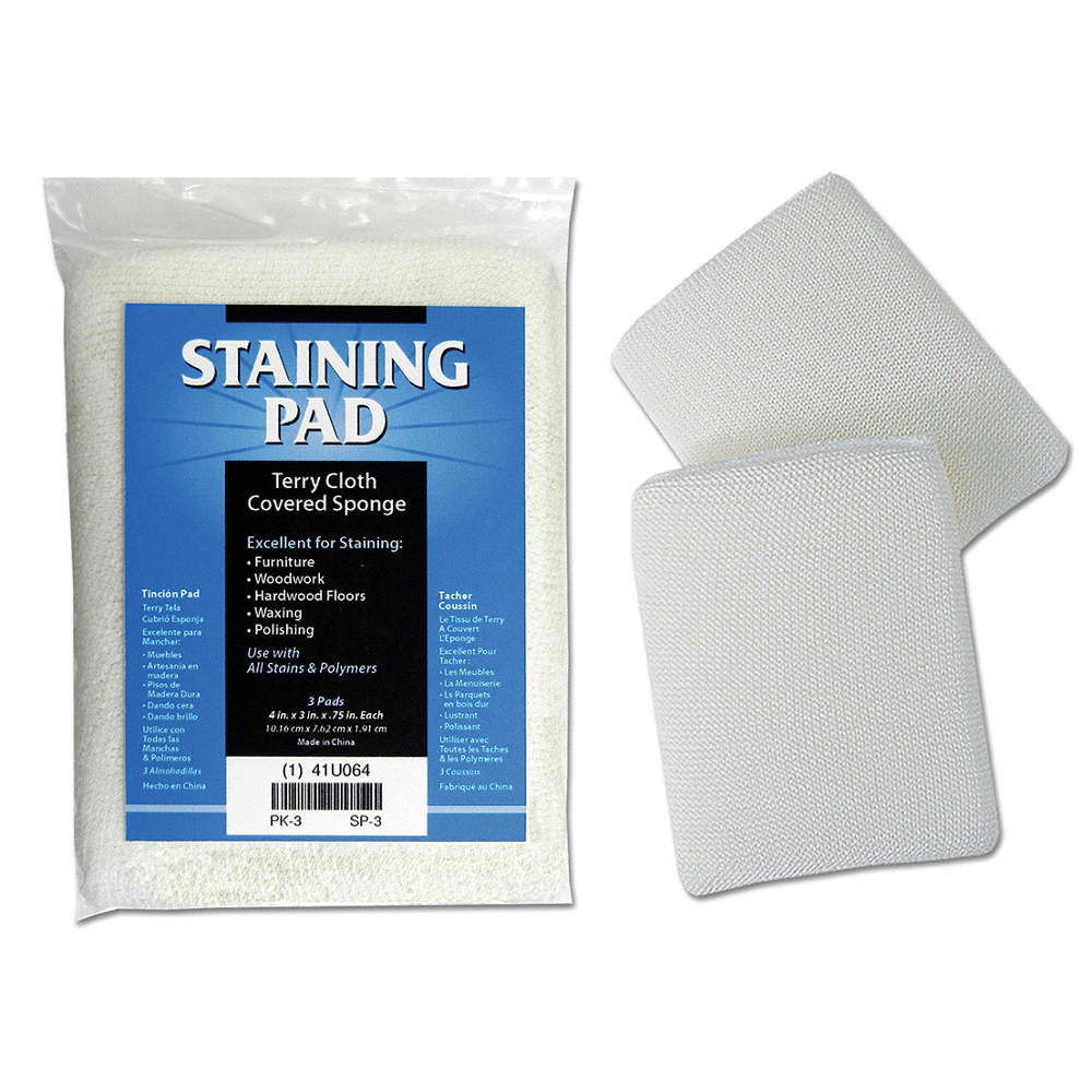 DEROYAL Staining Pad,5 In x 4 In,PK3 - 41U064|SP-3 - Grainger