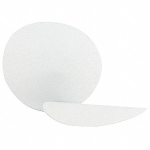 Disc,58-400mm,PTFE,Wide,White,PK500