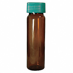 Type I Borosilicate Glass Vial Cleaned, 1 dram 144PK