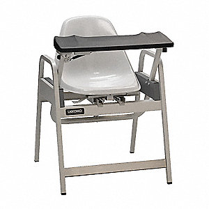 "Blood Draw Chair, White, Seat Depth 20"", Seat Width 22"", Seat Height 18"""