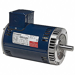 10 HP General Purpose Motor,3-Phase,3530 Nameplate RPM,Voltage 230/460,Frame 213TC