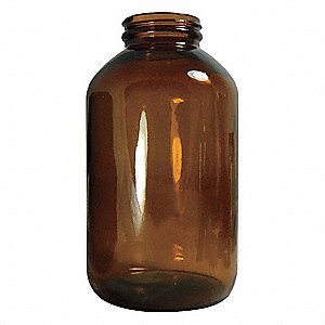 Packer Bottle,500mL,Glass,Wide,PK60