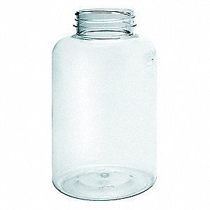 Packer Bottle,200mL,Plastic,Wide,PK335