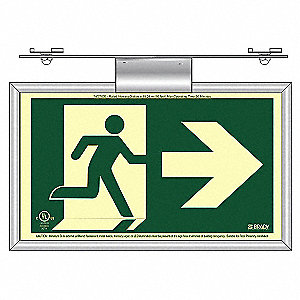 RUNNING MAN T-BAR ARROW RIGHT