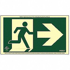RUNNING MAN ARROW NO FRAME RIGHT