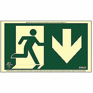 RUNNING MAN FRAMELESS DOWN
