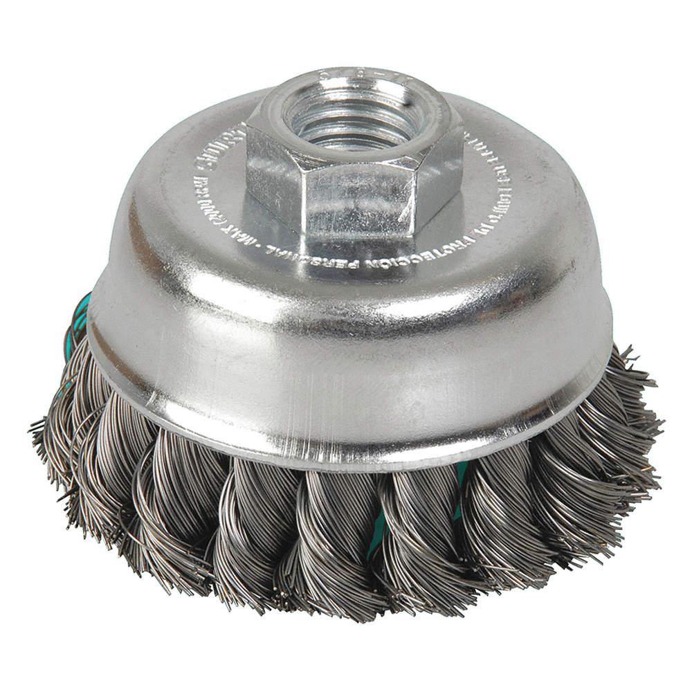 pluma + copa + forma de 36 piezas Cepillos de alambre de lat/ón y acero Ruedas de pulido el/éctricas para pulir herramientas para eliminar la pintura de corrosi/ón oxidada Juego de cepillos de alambre
