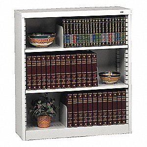 BOOKCASE KD 36X12X42 PUTTY