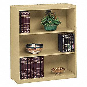 BOOKCASE WSU 34.5X13.5X40 LT GRAY