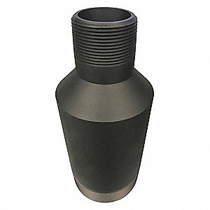 "Swage Nipple, Threaded, 2"" x 1-1/4"" Pipe Size - Pipe Fitting"