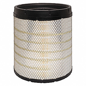 "Air Filter, Radial, 13-11/16"" Height, 13-11/16"" Length, 12-1/16"" Outside Dia."