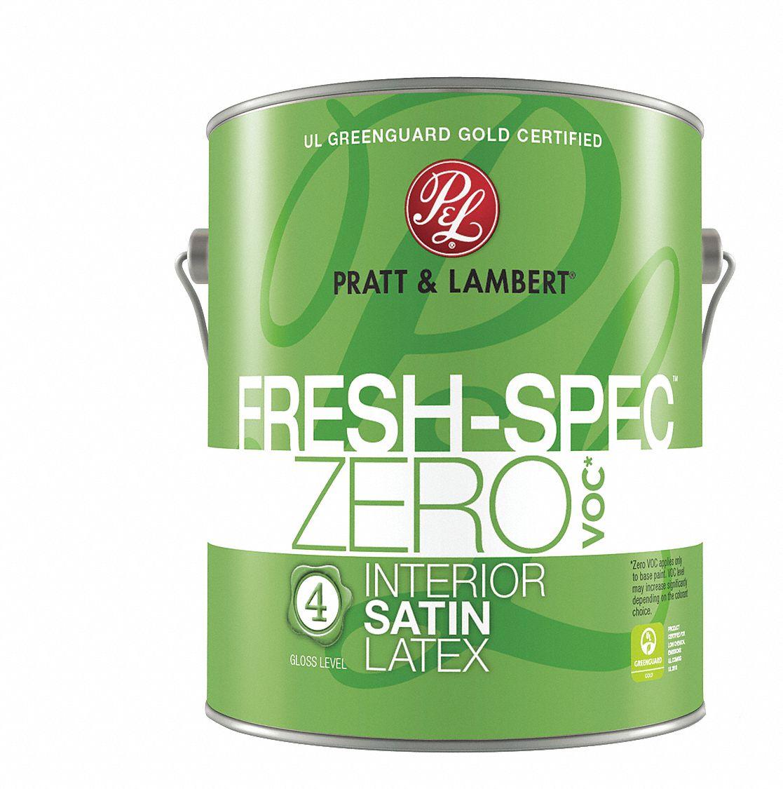 Satin Interior Paint, Latex, Super One Coat Int , 1 gal