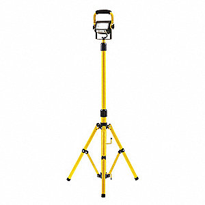 Temporary Job Site Light,  Tripod,  Corded (AC),  Lumens 1440,  Number of Lamp Heads 1