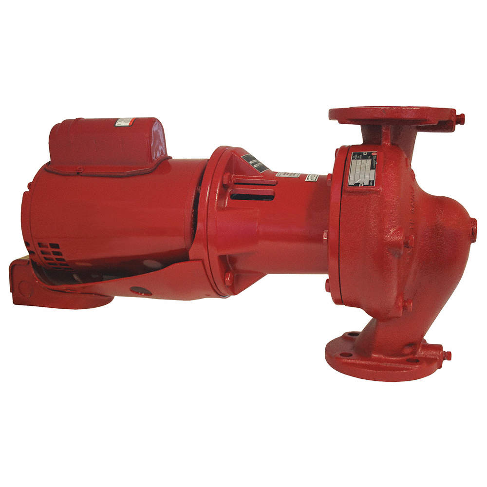1 HP Cast Iron In Line Centrifugal Hot Water Circulating Pump