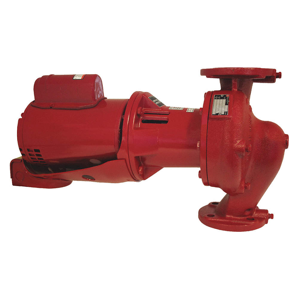 1/2 HP Cast Iron In Line Centrifugal Hot Water Circulating Pump