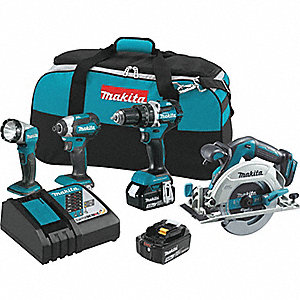 18V LXT® Cordless Combination Kit, 18.0 Voltage, Number of Tools 4