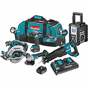 18V LXT® Cordless Combination Kit, 18.0 Voltage, Number of Tools 7