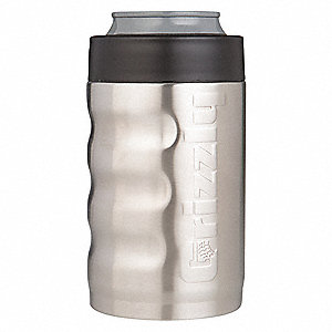 Insulated Mug, 12 oz. Stainless Steel
