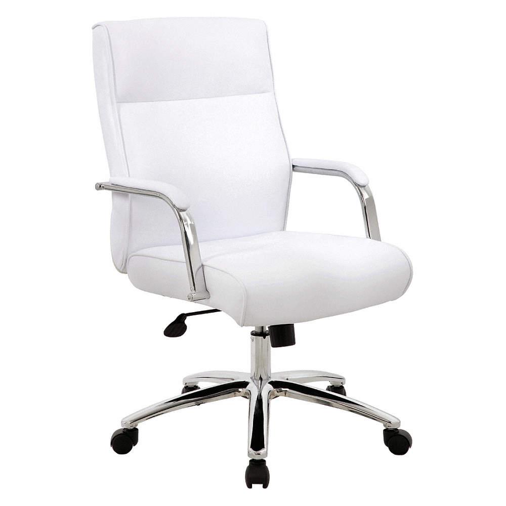 "Executive Chair, Metal Base, Overall 38"" H"