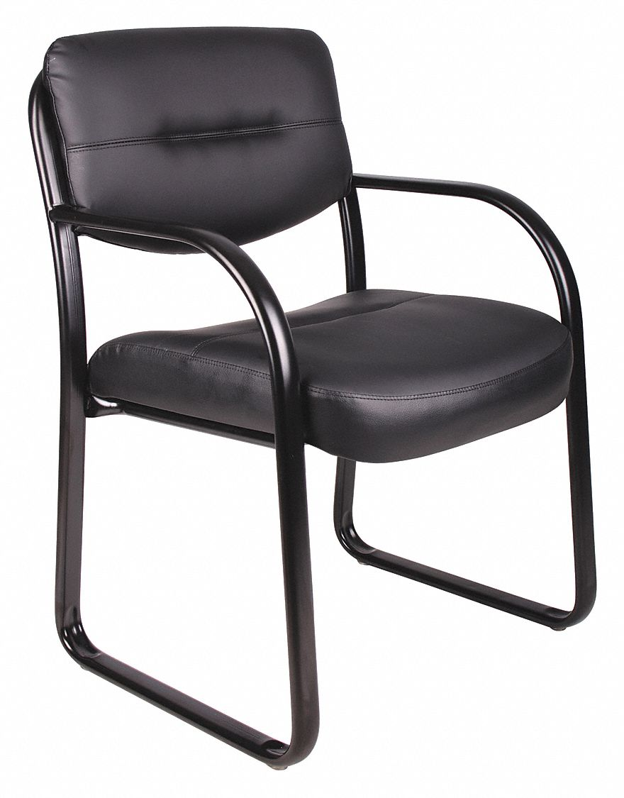 "Guest Chair, Black Frame, Seat 18-1/2"" H"