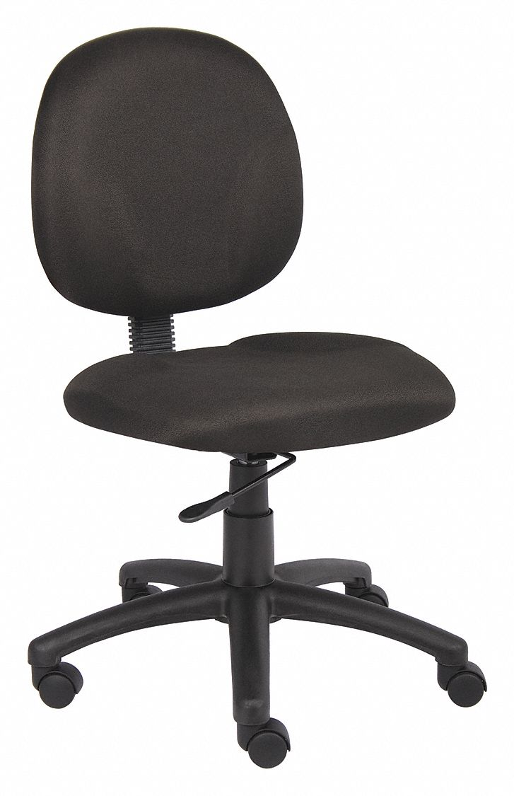 Task Chair,  Task Chair,  Black,  Fabric,  17 in to 22 in Nominal Seat Height Range