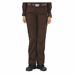 Women's TCLT PDU A-CL Pants. Size: 2, Fits Waist Size: 2, Inseam: Unhemmed, Brown