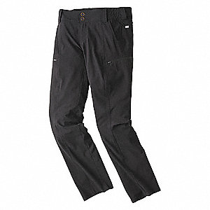 "Mesa Pants. Size: 20, Fits Waist Size: 20, Inseam: 28-3/4"", Black"